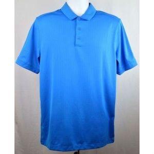 Nike Golf Tour Dri-Fit Triumph Polo Shirt Top Blue